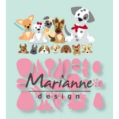 COL1464 - Marianne Design Collectable Eline's puppy