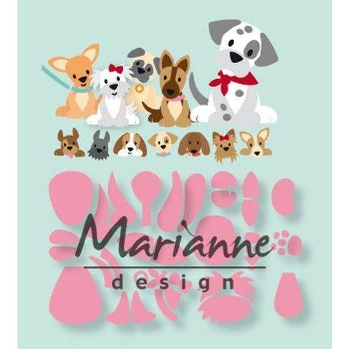 Marianne Design COL1464 - Marianne Design Collectable Eline's puppy