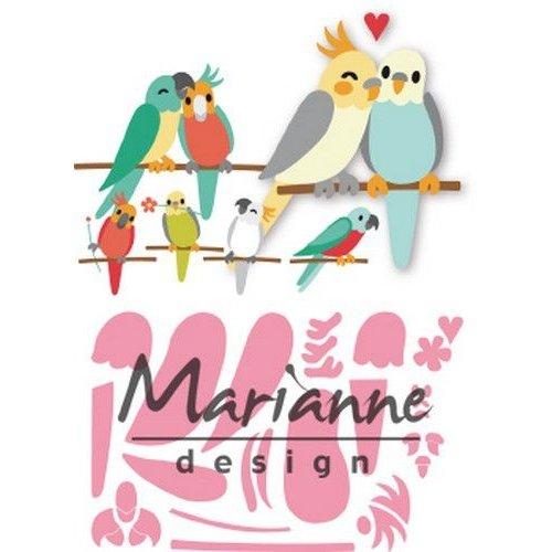 Marianne Design COL1465 - Marianne Design Collectable Eline's birds
