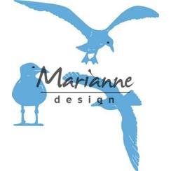 LR0595 - Marianne Design Creatable Tiny's sea gulls