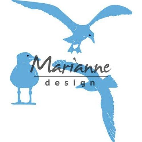 Marianne Design LR0595 - Marianne Design Creatable Tiny's sea gulls