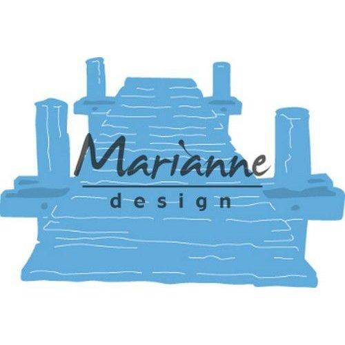Marianne Design LR0597 - Marianne Design Creatable Tiny's beach jetty