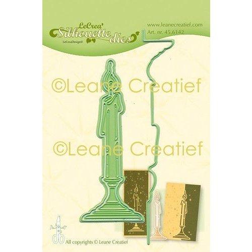 45.6142 - Lea'bilitie Kaars silhouette snij en embossing mal