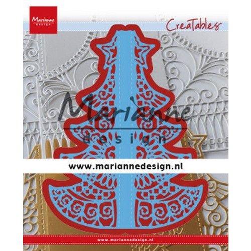 Marianne Design LR0612 - Creatable Gate Folding dies - Christmas 2 155x190 mm