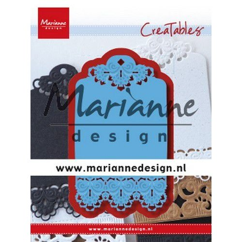 Marianne Design LR0616 - Marianne Design Creatable Brocante label
