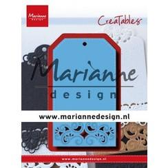 LR0617 - Marianne Design Creatable Classic label