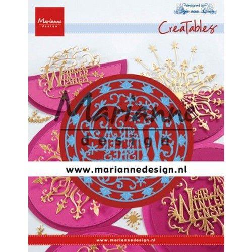 Marianne Design LR0620 - Marianne Design Creatable Anja's Warm Winter Wishes