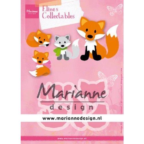 Marianne Design COL1474 - Marianne Design Collectable Eline's Cute Fox