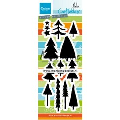 CR1483 - Marianne Design Craftable Trees by Marleen