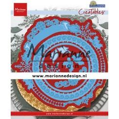 LR0627 - Marianne Design Creatable Petra's Winter Circle