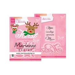 COL1476 - Marianne Design Collectable Eline's Rendier Kerst