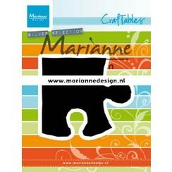CR1491 - Marianne Design Craftable Puzzle piece