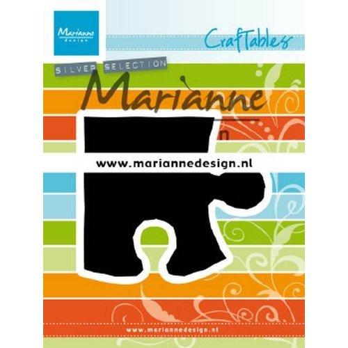Marianne Design CR1491 - Marianne Design Craftable Puzzle piece