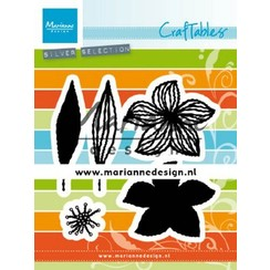 CR1493 - Marianne Design Craftable Open Flowers