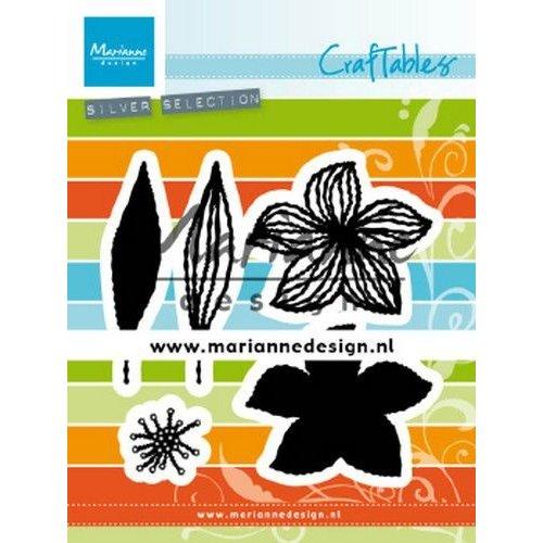 Marianne Design CR1493 - Marianne Design Craftable Open Flowers