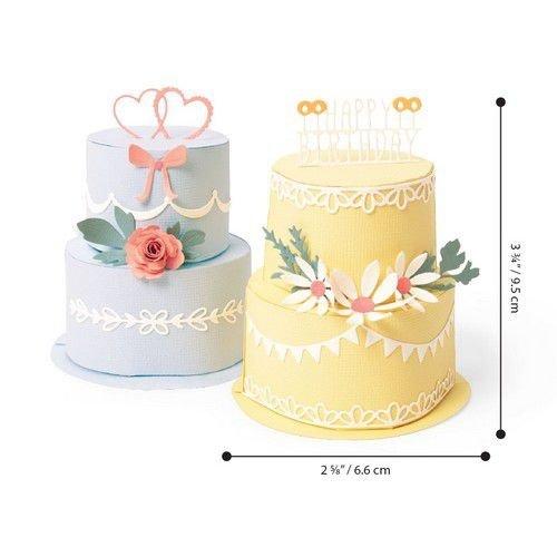 Sizzix 664356 - Sizzix Thinlits Die  Set - 29PK Cake Pop-Up 6