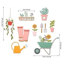 664379 - Sizzix Thinlits Die  Set - 23PK Garden Shed 9 Sophie Guilar