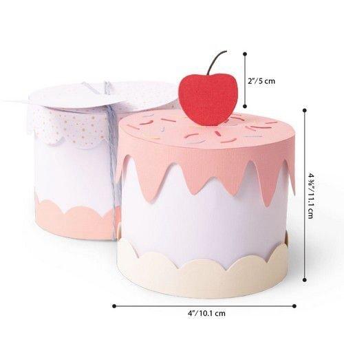 Sizzix 664400 - Sizzix Thinlits Plus Die Set 11PK - Cake Box 0 Georgie Evans