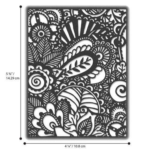 Sizzix 664417 - Sizzix Thinlits Die - Doodle Art 7 Tim Holtz