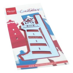 LR0661 - Creatable Gate Folding die - Light house