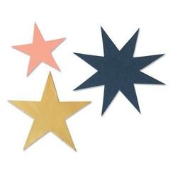 664503 - Sizzix Bigz Die - Winter Stars 3 Olivia Rose