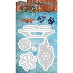 STENCILJL15 - Just Lou - Cutting & Embossing Die - Aviation Collection - nr.15