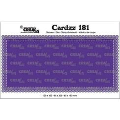 CLCZ181 - Crealies Cardzz Slimline A 81 100 x 205 mm