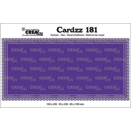 Crealies CLCZ181 - Crealies Cardzz Slimline A 81 100 x 205 mm