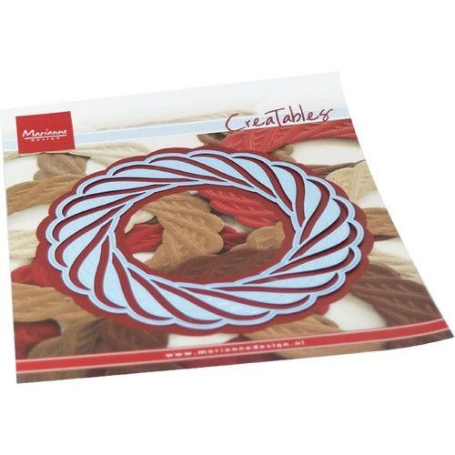 Marianne Design LR0691 - Marianne Design Creatable Wicker Wreath