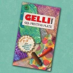 GEL3X5 - Gelli Arts - Gel Printing Plate 7.6x12.7cm 5
