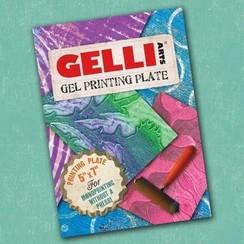 GEL5X7 - Gelli Arts - Gel Printing Plate 12.7x17.8cm 7