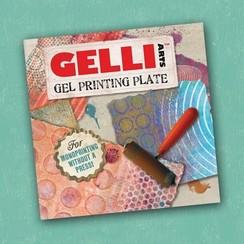GEL6X6 - Gelli Arts - Gel Printing Plate 15.4x15.4cm 6