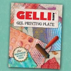 GEL8X10 - Gelli Arts - Gel Printing Plate 20.3x25.4cm 10
