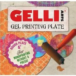 GEL4R - Gelli Arts - Gel Printing Plate rond 10cm