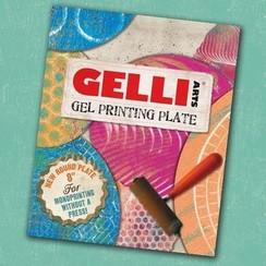 GEL8R - Gelli Arts - Gel Printing Plate rond 20cm
