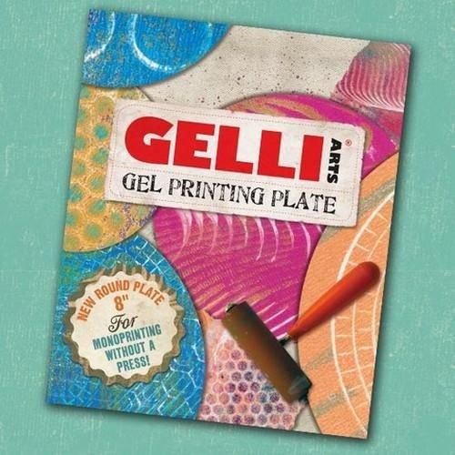 Gelli Arts GEL8R - Gelli Arts - Gel Printing Plate rond 20cm