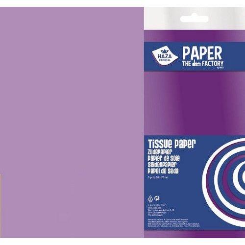 185927 - Haza Zijdevloeipapier lila 18gr 5VL 50x70cm 7