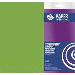 185943 - Haza Zijdevloeipapier lichtgroen 18gr 5VL 50x70cm 3