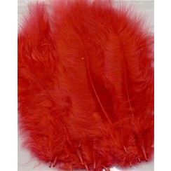 12228-2803 - Marabou Feathers,Red,15pcs