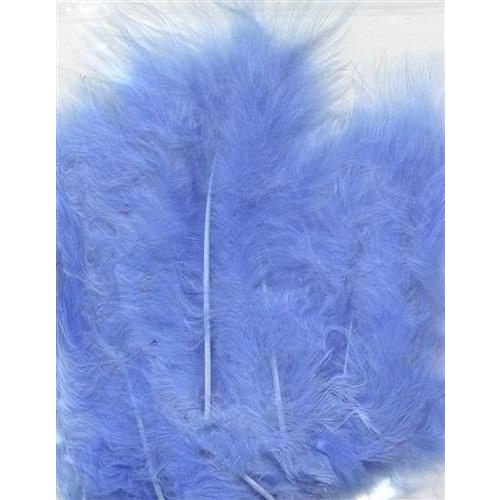 12228-2805 - Marabou Feathers,Blue,15pcs