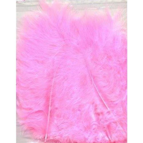 12228-2806 - Marabou Feathers,Pink,15pcs