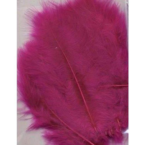 12228-2807 - Marabou Feathers,Fuchsia,15pcs