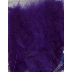 12228-2808 - Marabou Feathers,Purple,15pcs