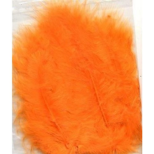 12228-2810 - Marabou veren oranje 15 ST