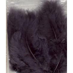 12228-2816 - Marabou Feathers,Gray,15pcs