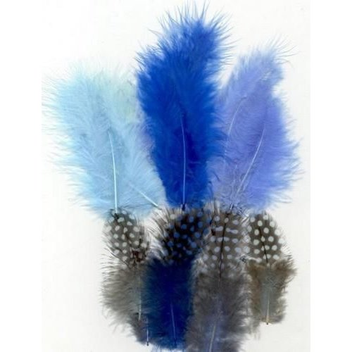 12229-2902 - Feathers,Marabou & Guinea Fowl,Ass.Mix,Boy