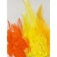 12235-3505 - Feathers, Easter, 3x5 pcs, 15pcs