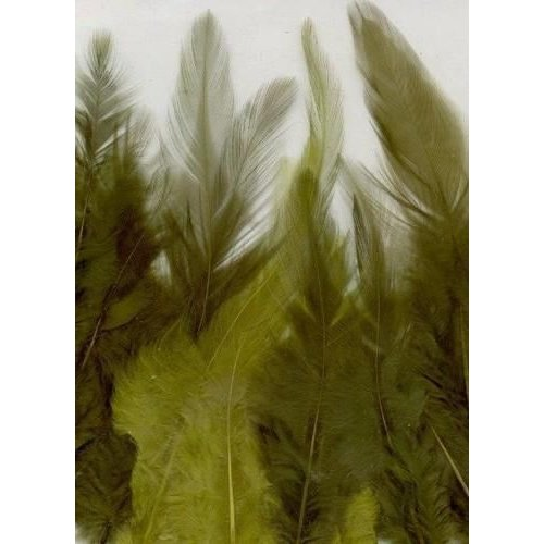 12235-3506 - Feathers, Forest, 3x5 pcs, 15pcs