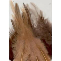 12235-3508 - Feathers, Earth, 3x5 pcs, 15pcs