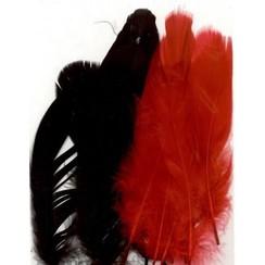 12238-3801 - Feathers, Gala, 7+8 pcs, 15pcs